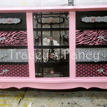 Custom Painted Made to Order Vintage Dresser