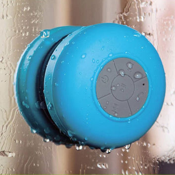 Bluetooth Subwoofer Mini Wireless Portable Waterproof Shower Speaker