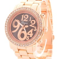 Oh You Fancy Rose Gold Watch