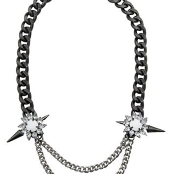 8 Other Reasons Loaded Necklace in Gunmetal