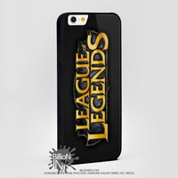 League Of Legends For Apple, Iphone, Ipod, Samsung Galaxy Case
