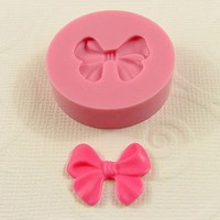 MOLD Bow Flexible Silicone Mould 18mm for Crafts by MoldMuse