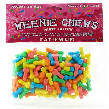 Bachelorette Party Weenie Chews Candy