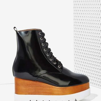 Jeffrey Campbell Kreppel Leather Platform Boot
