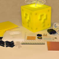 Interactive 8bit Question Block Lamp KIT by 8BitLit on Etsy