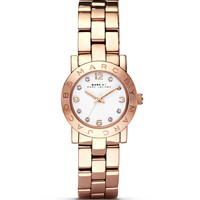 MARC BY MARC JACOBS Mini Amy Rose Gold Watch, 26mm | Bloomingdale's