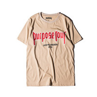 2016 Justin Bieber Purpose Tour Shirt