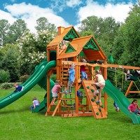 Gorilla Playsets Great Skye II Wooden Swing Set