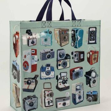 Cameras Shopper Eco Tote Bag, Made with Recycled Material