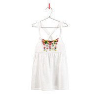 STRAPPY TOP WITH BEADING - Girl - New this week - ZARA United States