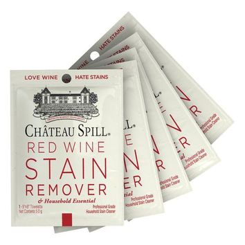 Chateau Spill Travel Five Pack Spill Wipes