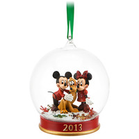 Disney Mickey and Minnie Mouse 2013 Ornament | Disney Store