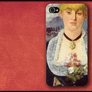 A Bar at the Folies-Bergere - Edouard Manet Phone Case iPhone Cover