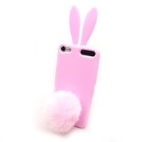 Selectable Bunny Rabbit TPU Skin Case Cover for Apple iPod Touch 5 Generation