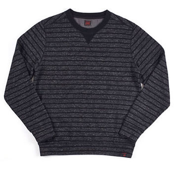 Grayers Striped Loop Back Pullover