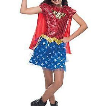 Toddler Wonder Woman Sequin Costume