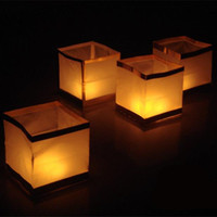 Lantern, Chinese Wishing Lantern. Set of Ten Floating Lanterns, Waterproof River Lights.