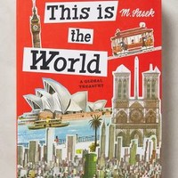 This Is The World by Anthropologie Bright Red One Size House & Home