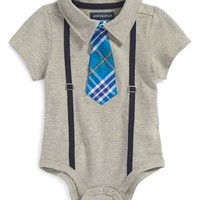Infant Boy's Andy & Evan Polo Bodysuit,