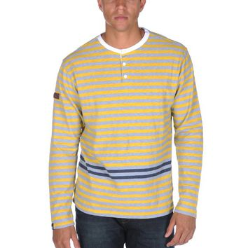 Under Two Flags Striped Henley