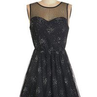 ModCloth Cosmic Sleeveless A-line Cosmos for Celebration Dress