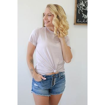 Classic Tee - Dusty Lavender
