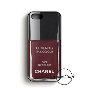 Chanel Nail Polish Accesorie iPhone 5/5S/SE Case