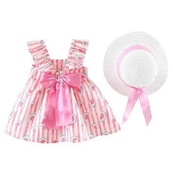 Fashion Casual A-line  Dress For Baby Girl