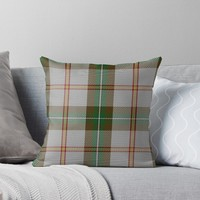 'Saskatchewan Dress Tartan' Throw Pillow by IMPACTEES