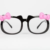 Hello Kitty Die-Cut Fashion Glasses: Pink