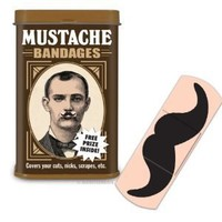 Accoutrement Mustache Bandages