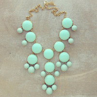 Pree Brulee - Baby Blue Tea Necklace