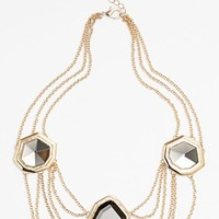 Carbon Copy Mirrored Collar Necklace | Nordstrom