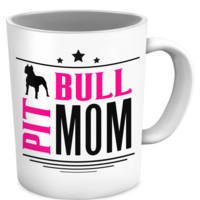 Pit Bull Mom Demo Mug