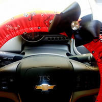 Georgia Bulldogs UGA Go Dawgs! Steering Wheel Cover