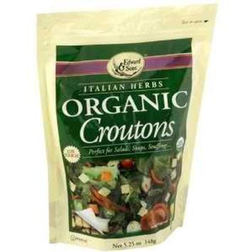 Edward & Sons Italian Herb Croutons (6x5.25 Oz)