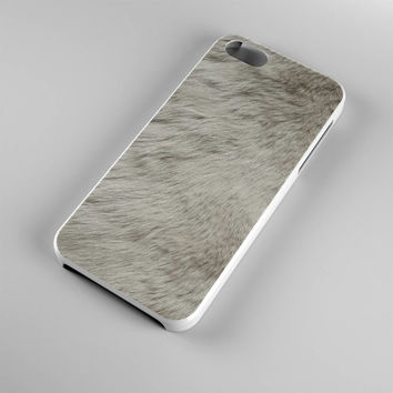 DS282-iPhone Case - Iphone 5 case-Iphone 5s case - Iphone 4 case - Iphone 4s case - Iphone Cover -Animal Print Rabbit Fur iPhone Case