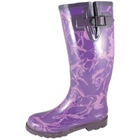 Smoky Mountain Dancing Horses Waterproof Boots - Ladies, Purple and Rain and Muck Boots | EQUESTRIAN COLLECTIONS.COM