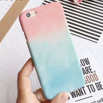 Cotton Candy Clouds Case for iPhone Fun