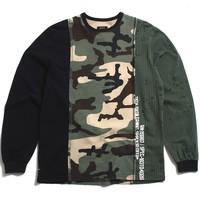 Many Wars Longsleeve T-Shirt Multi Camo