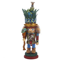 Santa's Little Helper Collection 17.75-Inch Hollywood Frog Prince Nutcracker