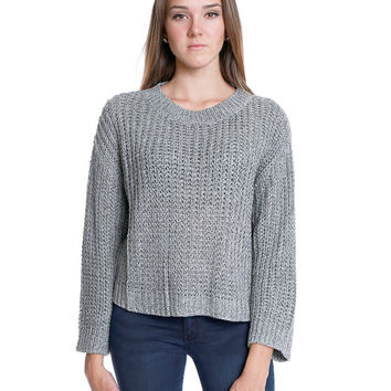 On and Off Sweater Top