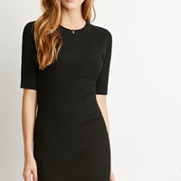 Ribbed Knit Bodycon Dress | Forever 21 - 2000172913