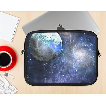 The Foreign Vivid Planet Ink-Fuzed NeoPrene MacBook Laptop Sleeve