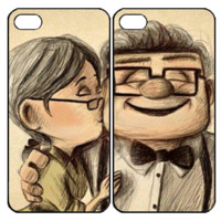 carl and ellie romantic kissSamsung Galaxy S3 S4 S5 Note 3 4 , iPhone 4 4S 5 5s 5c 6 Plus , iPod Touch 4 5 , HTC One M7 M8 ,LG G2 G3 Couple Case