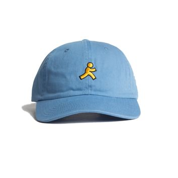 AOL Guy Logo Embroidered Cap