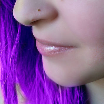 22 GAUGE Nose hoop nose ring nose stud from maylovely on Etsy