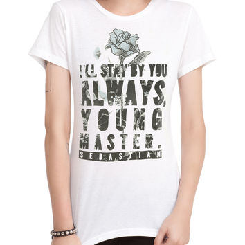 Black Butler Stay By You Girls T-Shirt 3XL
