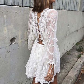 Ellowise Lace Dress
