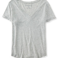 Seriously Soft Perfect V-Neck Tee - Aeropostale